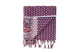 mayde towel red white and blue