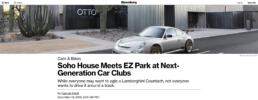 Bloomberg features Otto car club
