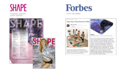 Forbes features yellow willow yoga and shape