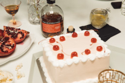 the glenrothes served with dessert cake