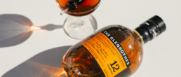 the Glenrothes bottle next to poured drink