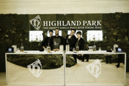 highland park reps smiling for the camera