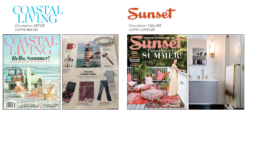 coastal living and sunset magazine feature mayde towel