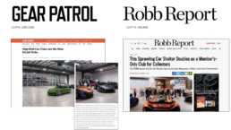 gear patrol and Robb Report features Otto car club