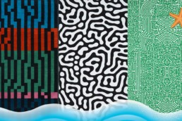 different designs for beach towels