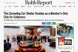 Robb Report features Otto car club