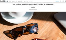 inside hook features sunglasses