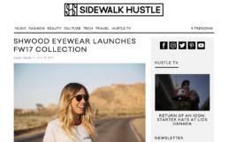 sidewalk hustle features Shwood Eyewear newest launch