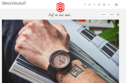 bless this stuff features grovemades wooden watch