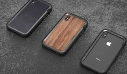 3 phones with grovemades cases on them