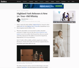 Forbes features highland park