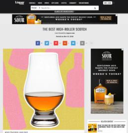 liquor features highland park