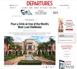 departures features highland park