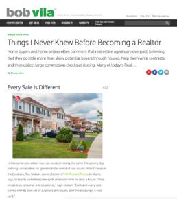 bob villa features broker