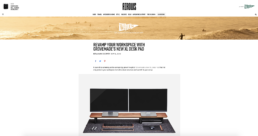 arrows features grovemade monitor stand