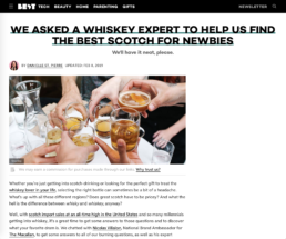 best tech features the glenrothes