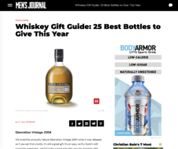 mens journal features the glenrothes