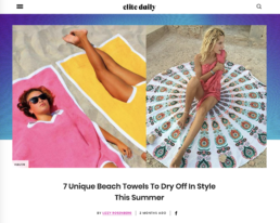 elite daily features mayde towel