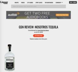 liquor features nosotros bottle