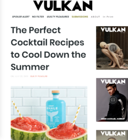 Vulkan features gray whale gin