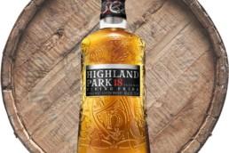 highland park 18 year old bottle