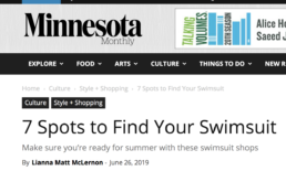 Minnesota Monthly features Saint Somebody