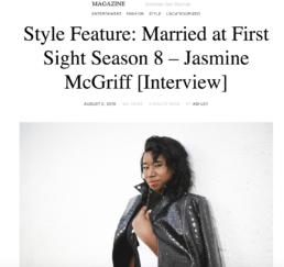 Jasmine McGriff Styled in Saint Somebody One Piece