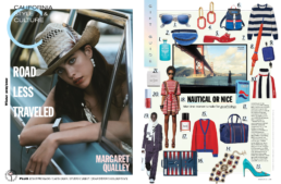 C Magazine gift guide collage featuring Gray Whale Gin