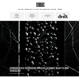Omnom black chocolate bar article